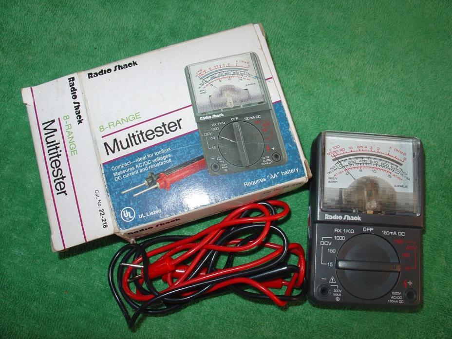 Multimeter Radio Shack - For Sale Classifieds