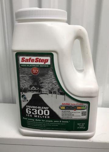 Safe Step Power 6300 Enviro-Blend 11 LB Premium Ice Melter New