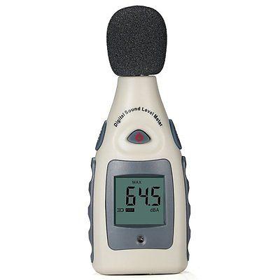 Sound Level Meter, Portable Digital Sound Level and 30 - 130 Decibel Meter