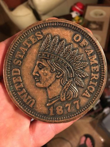 1877 US Indian Head Cent 3