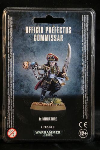 Warhammer 40K Astra Militarum (Imperial Guard) Officio Perfectus Commissar  NEW