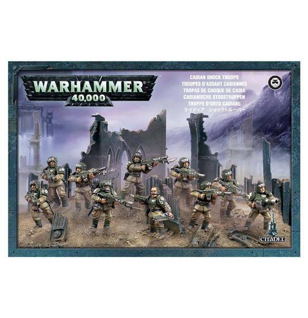 Warhammer 40k Imperial Guard Cadian Shock Troops  NIB