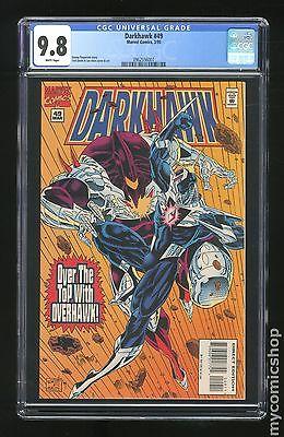 Darkhawk (1991) #49 CGC 9.8 0962556007