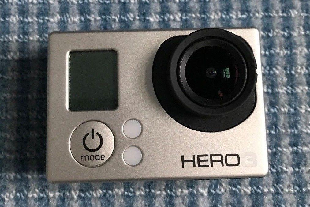 GoPro HERO3 White Edition Camcorder -  White (Used)