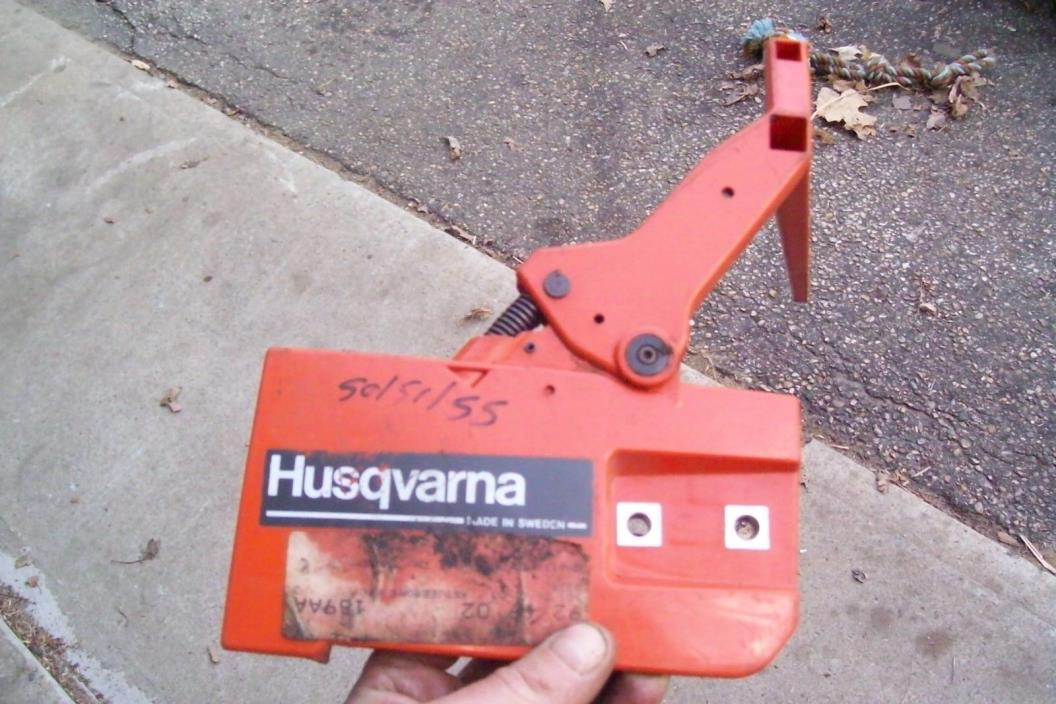 husqvarna 50 51 55  chainsaw NOS Chain Brake Handle pto clutch cover OEM