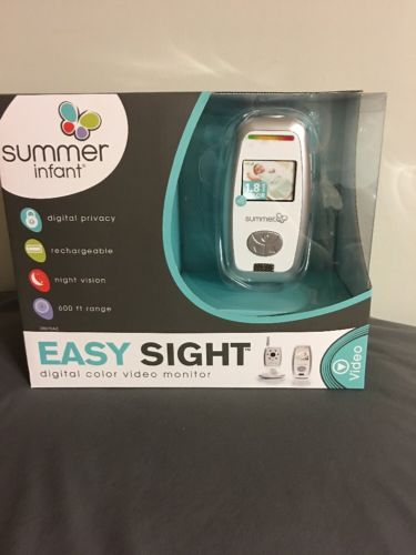 Summer Infant Easy Sight Digital Color Video Monitor New Free Shipping
