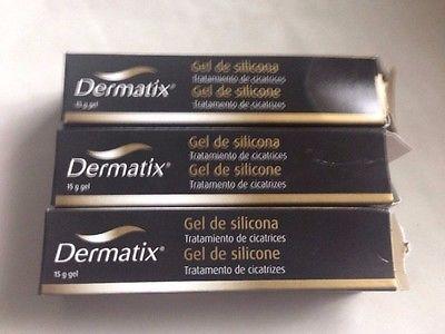 DERMATIX SILICONE GEL 15G/0.5oz SCARS REDUCTION.Brand new Please see description
