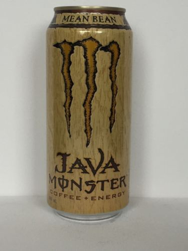 Monster JAVA Coffee + Energy Drink 16oz Full OR Empty Can - See Discription