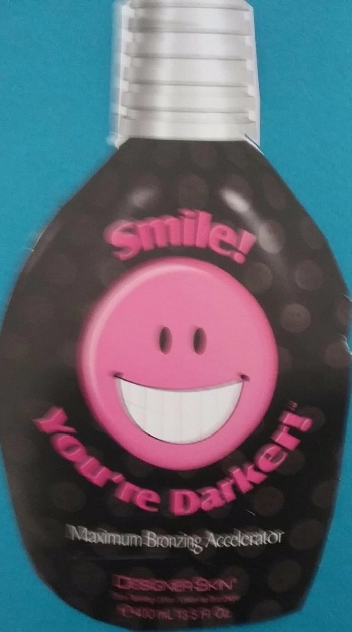Designer Skin Smile! You're Darker !   DHA Bronzer