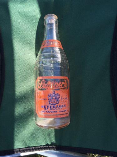 Skinner's Soda Bottle, Harrisburg, Pennsylvania 1940's