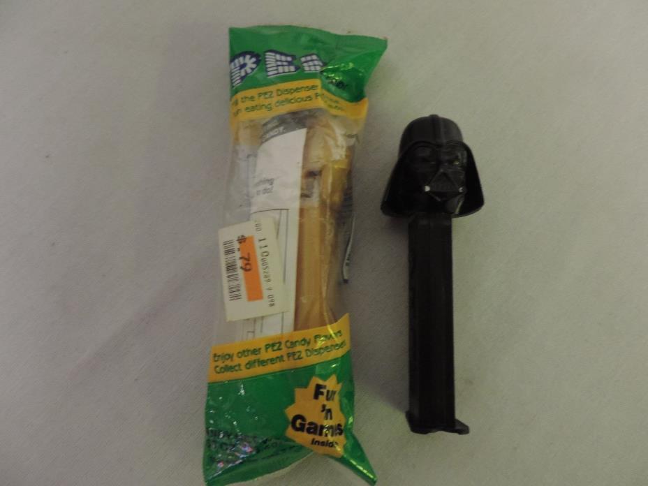 Star Wars Pez Dispenser C-3PO New Unopened plus Darth Vader