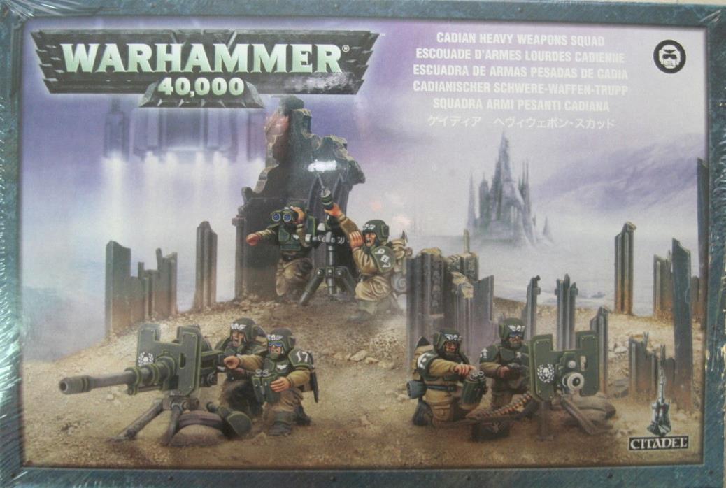 Warhammer 40K: Astra Militarum: Heavy Weapon Squad  NEW