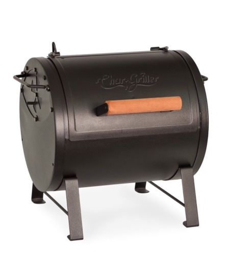 Char Griller 24-2424 Table Top Charcoal Grill And Side Fire Box