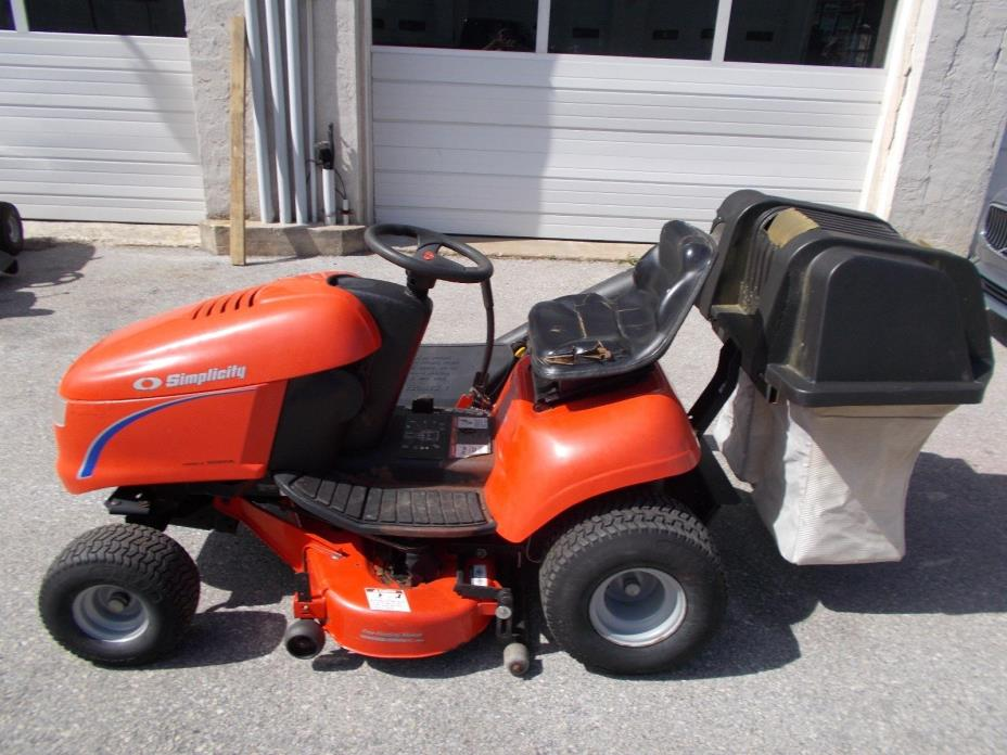 Simplicity Riding Mowers - For Sale Classifieds