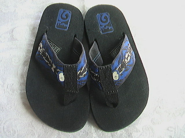 Teva Mush Flip Flops Sandals Toddler Boys Size 9