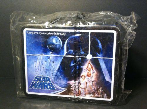 Star Wars Metal Tin Box With Handle
