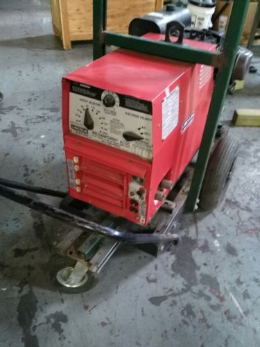 Lincoln electric arc welder generator AC-225/DC-210/6