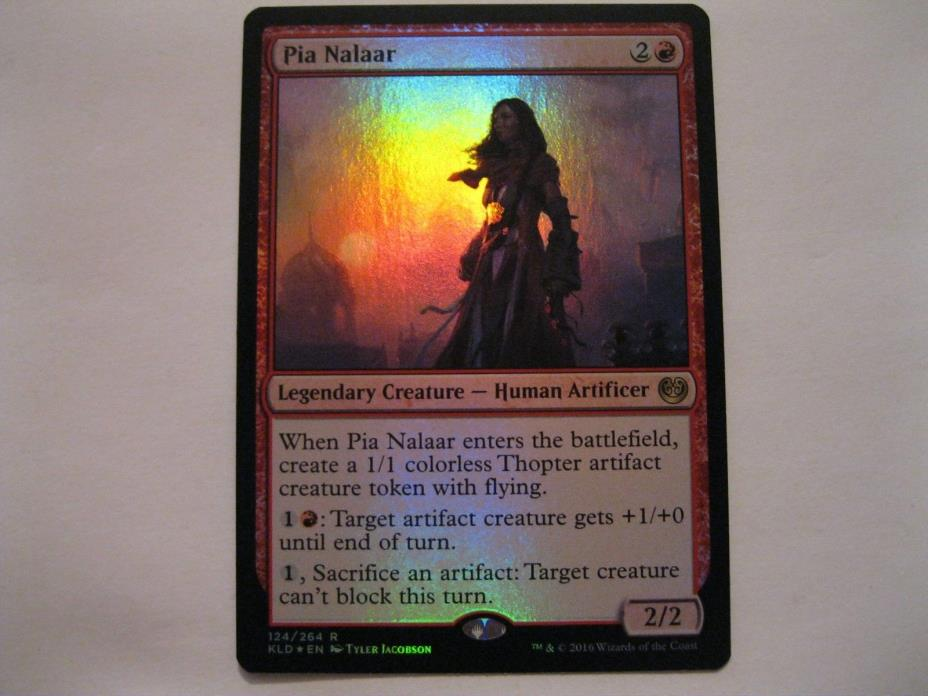 Pia Nalaar FOIL See Photos  Free Ship MTG Ship US Only