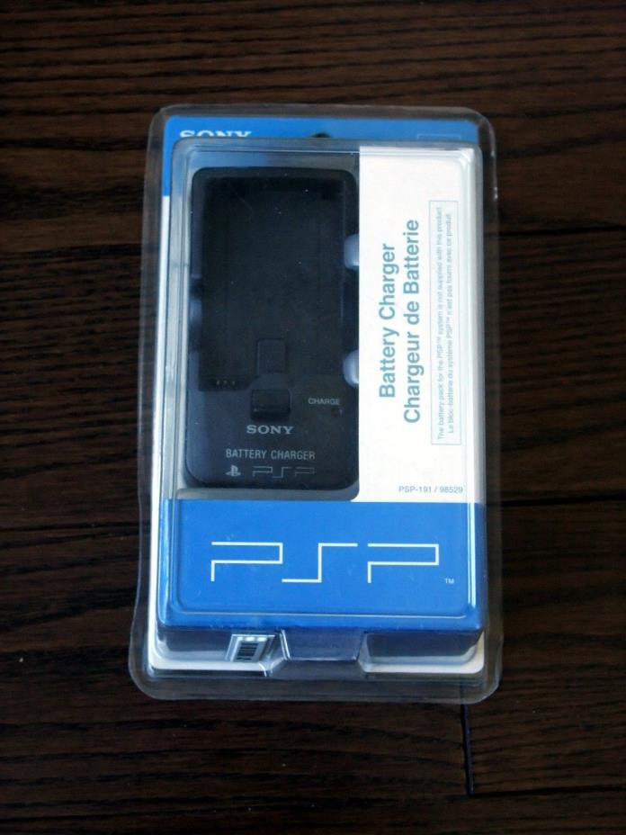 Brand New Genuine OEM Sony PlayStation Portable PSP-191 Battery Charger 98529