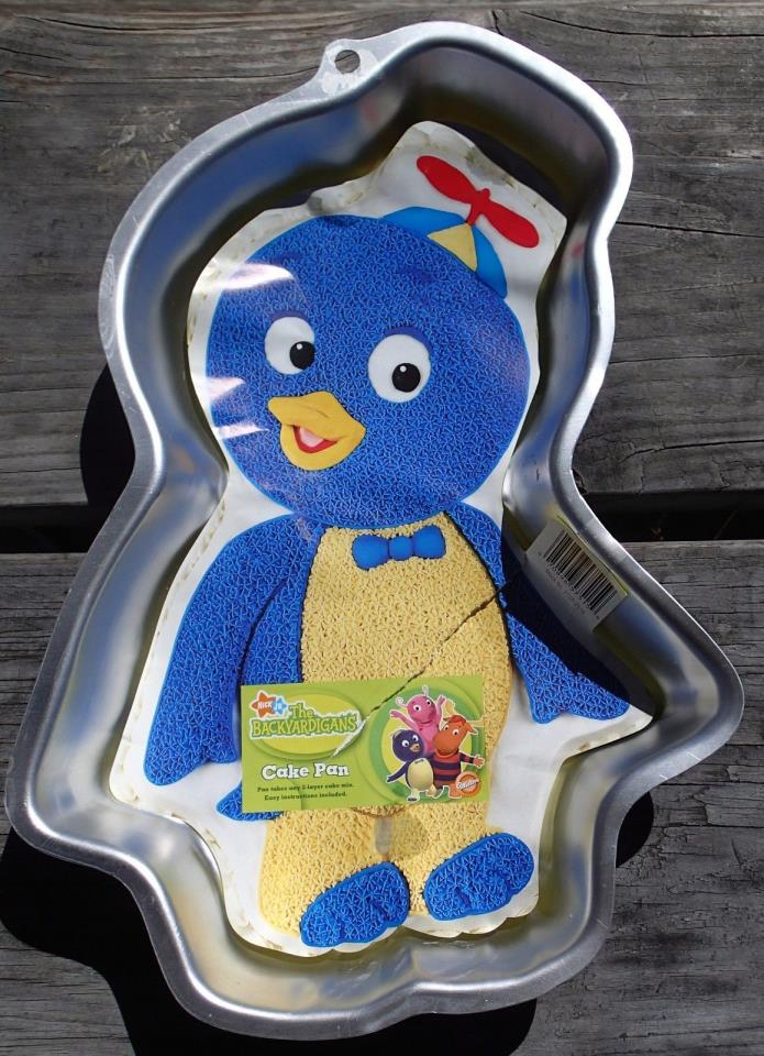 Wilton THE BACKYARDIGANS PABLO Birthday Cake pan Brand NEW Instructions