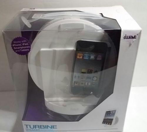 iwave Turbine Speaker System For iPod iPhone iPad Smartphones Tablets