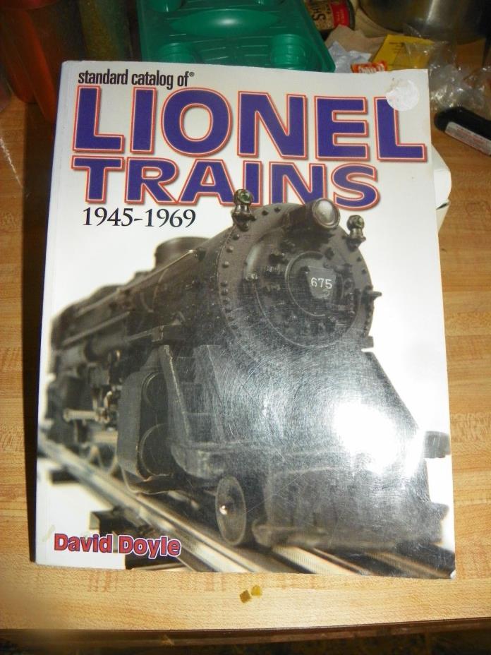 lionel train catalog 1945-1969 standard catalog