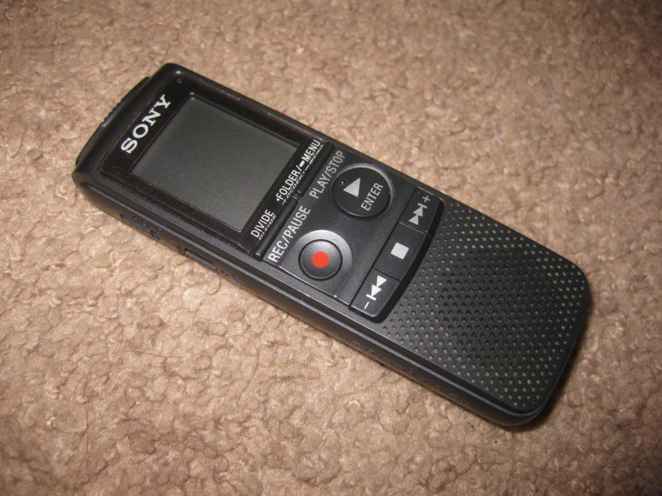 Sony ECD-PX820 Handheld Digital Voice Recorder (535 Hours of Recording)
