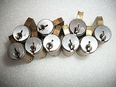10  Schlage EVEREST  C123 US26D lock cylinders NEW LOCKSMITH