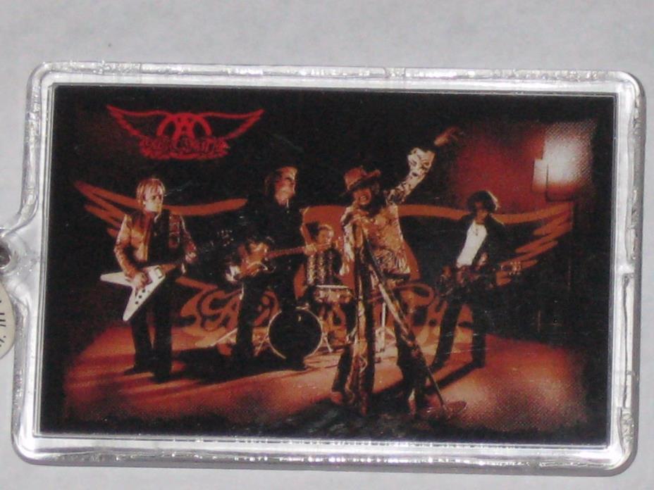 Aerosmith 2 Sided Picture Keychain 2003
