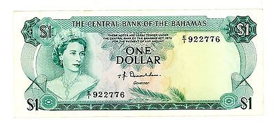 Bahamas ... P-35a ... 1 Dollar ... 1974 ... CH*VF-XF*