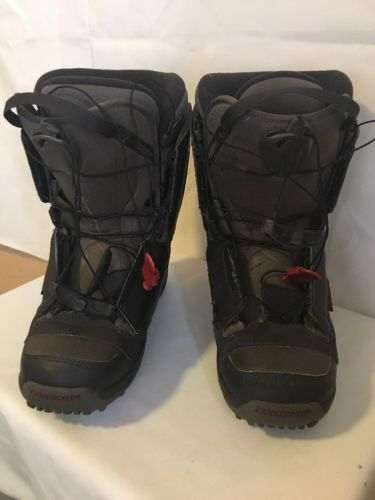 Salomon Autofit Men's Snowboard  Boots Size USA 9.5