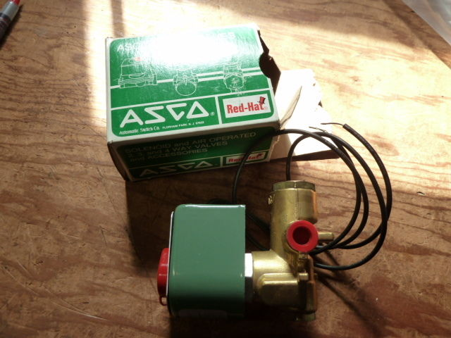 New Asco Red Hat Valve 8345B2 1/4