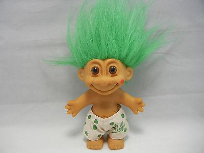 "Russ 4"" KISS ME I'M IRISH Troll Doll Boxer Shorts W Original tag ….NICE….LOOK!!"