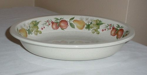 WEDGWOOD • QUINCE • Oval VEGETABLE SERVING BOWL • Excellent Condition
