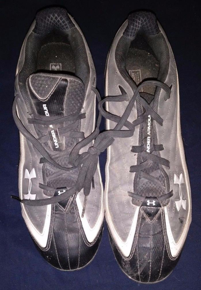 Under Armour Size 10.5 Boys Cleats Made With Heat Gear