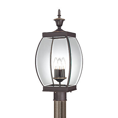 One Allium Way Goulaine Outdoor 3-Light Lantern Head