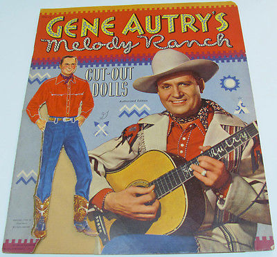 1950 Gene Autry's Melody Ranch Paper Dolls