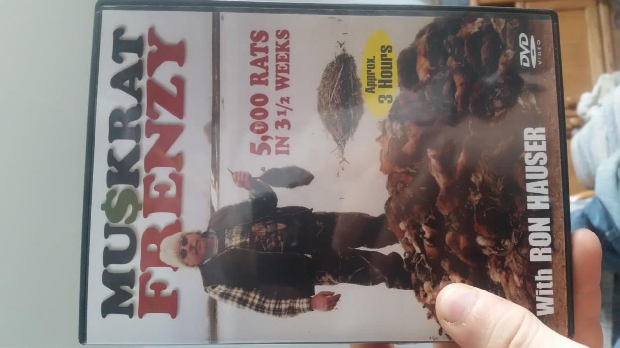 muskrat trapping dvd