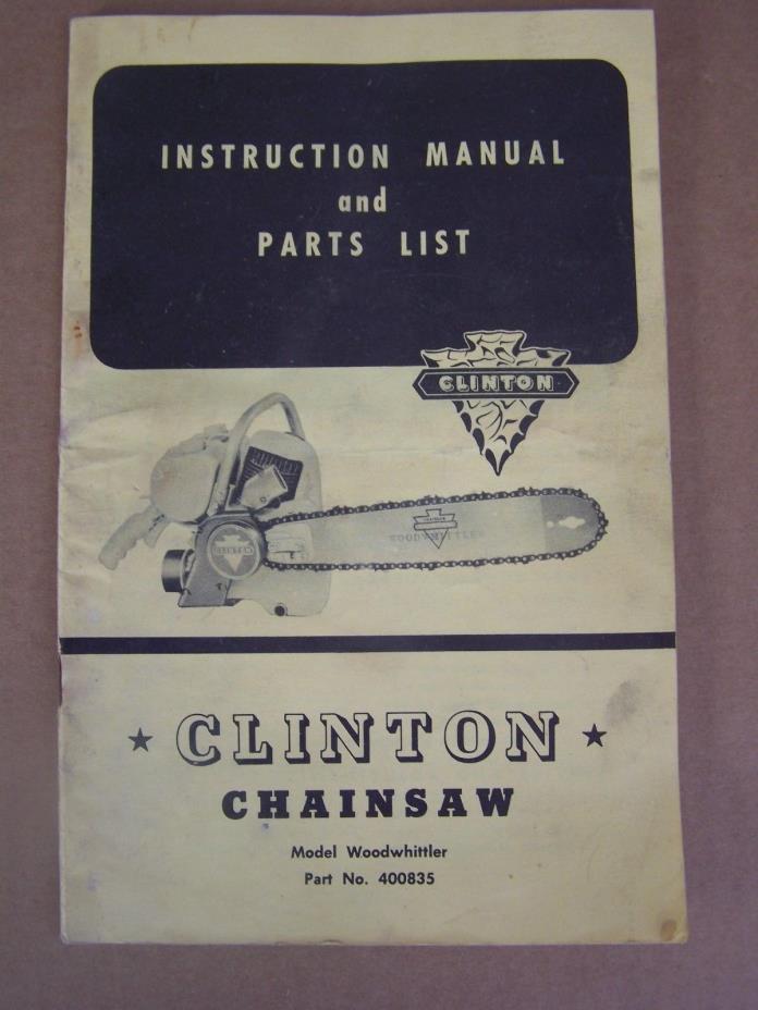 Clinton chainsaw