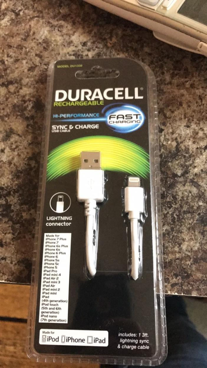 Duracell sync and charge