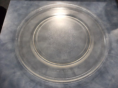 """Microwave Oven Clear Glass Turntable Tray Dish Plate 16"""" Replacement A090 - used"""