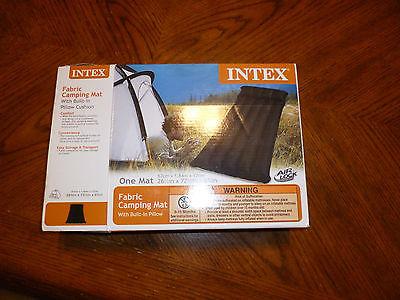intex fabric camping mat 26 1/2 x 72 1/2 x 63/4