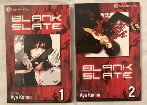 Blank State Manga Volume 1 & 2
