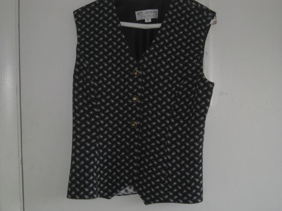 St John Collection Vest -Size S  Beautiful style! Free Shipping!   pl