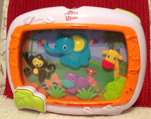 Bright Starts Safari Adventures Musical Soother - Baby Sounds Learning Crib Toy