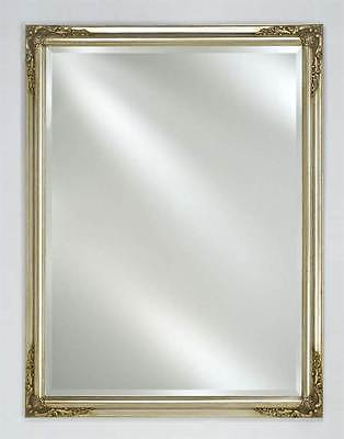 Estate Beveled Wall Mirror in Antique Silver Finish [ID 1093732]