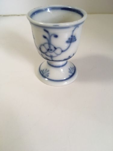 Blue and White Porcelain Egg Cup