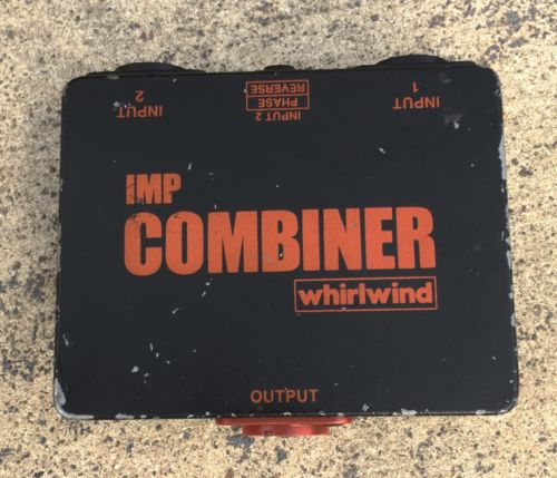 Whirlwind Mic Combiner