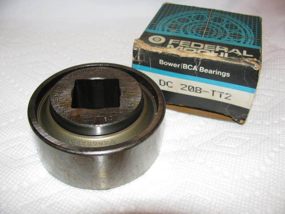 New DC208TT2B BCA FEDERAL MOGUL Square Bore Disc Harrow Bearing