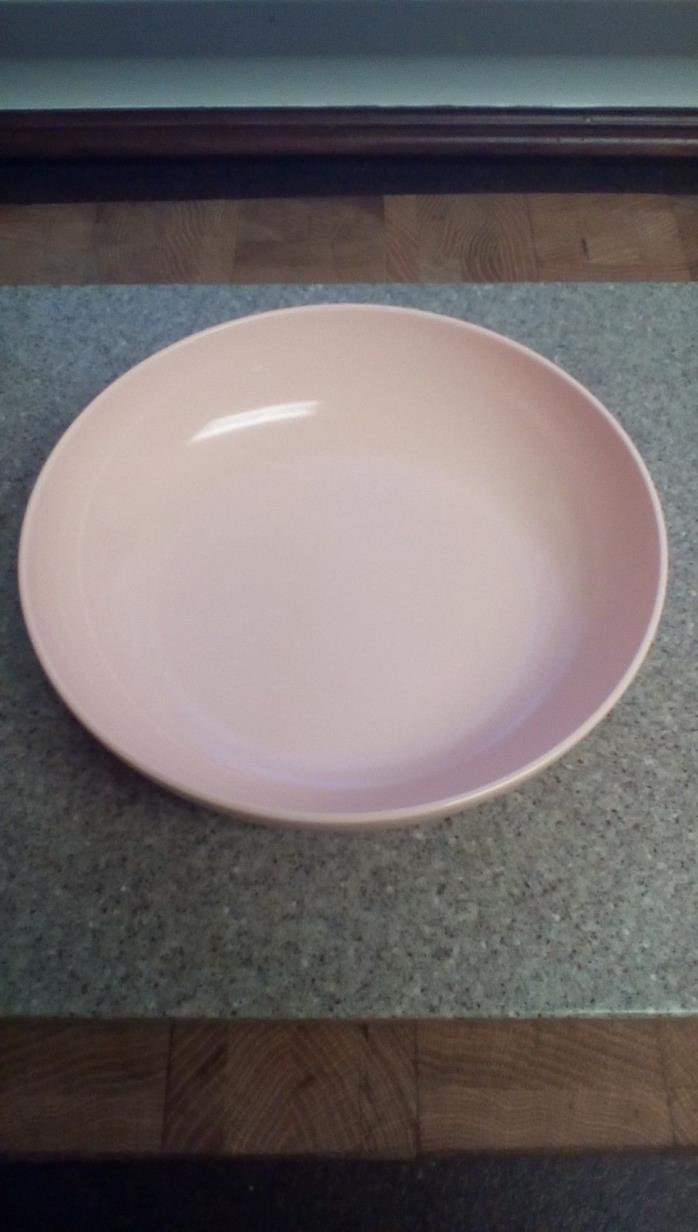 Vintage Melmac Pink Serving Bowl